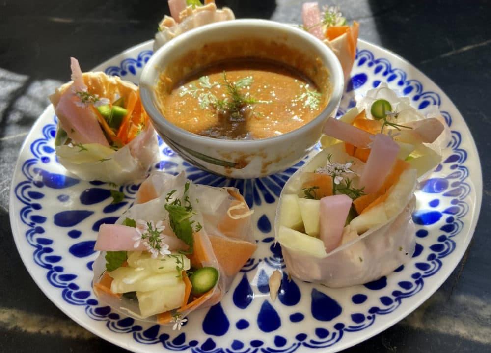 Fresh Vegetable Rolls (Kathy Gunst)