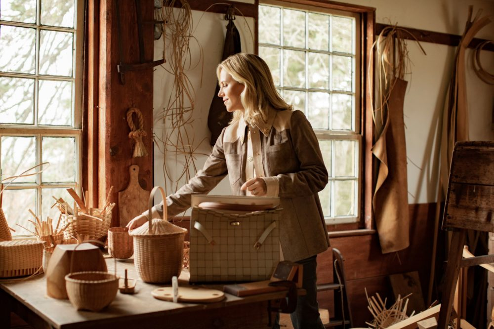 """""""Tory Burch: Beauty Rests on Utility"""" opens May 31 at Hancock Shaker Village. (Courtesy Noa Griffel for Tory Burch)"""