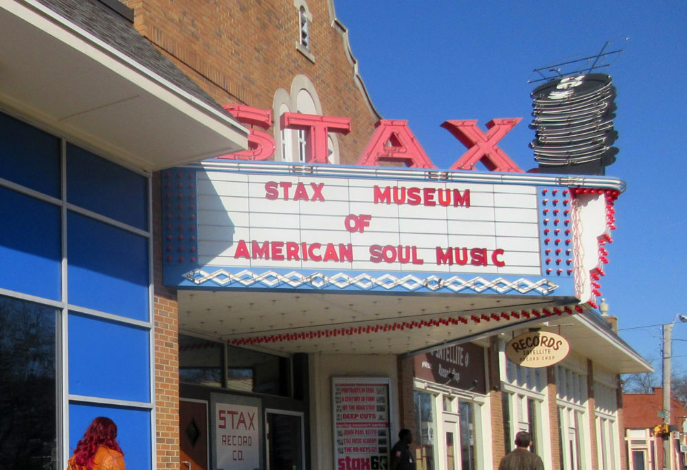 The Stax Museum of American Soul Music in Memphis, Tennessee. (Beth J. Harpaz/AP)