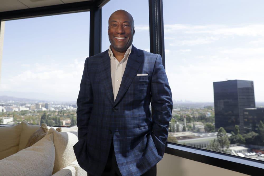 Comedian and media mogul Byron Allen in Los Angeles in 2019. (Chris Carlson/AP)