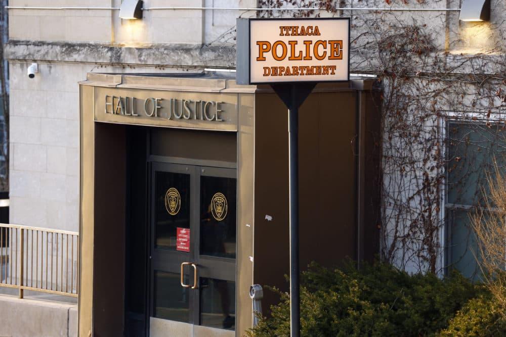 The Ithaca Police Department headquarters in Ithaca, New York. (John Munson/AP)