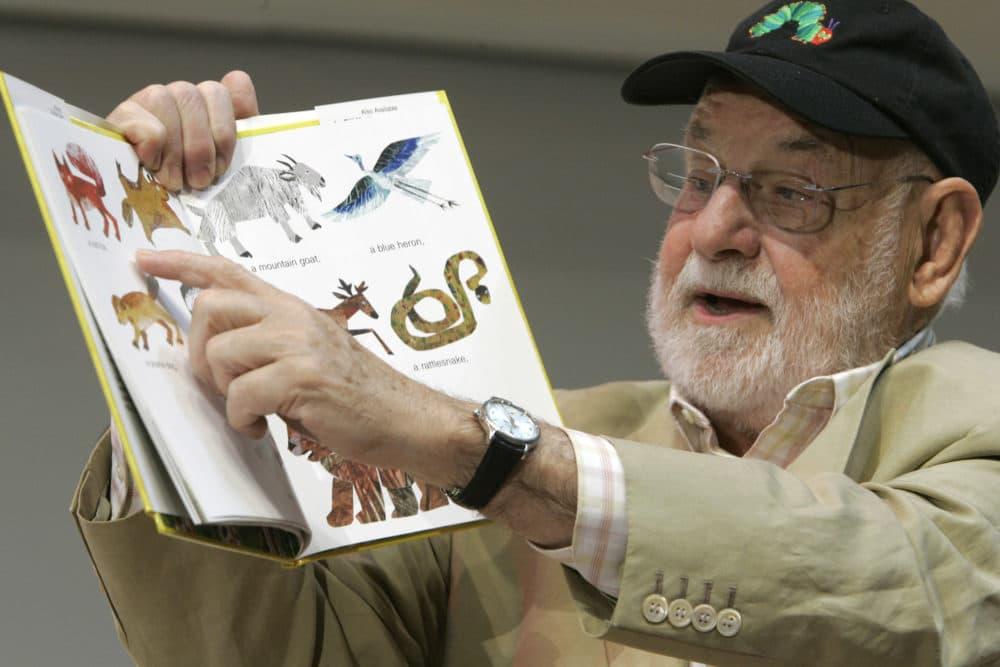 Illustrator Eric Carle. (Mary Altaffer/AP)