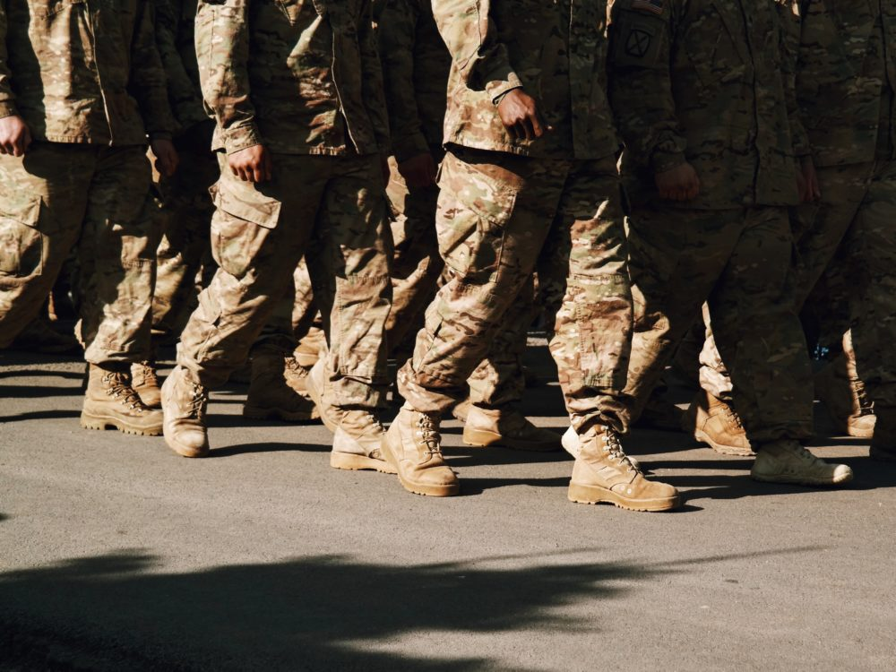 Army soldiers. (Getty Images)