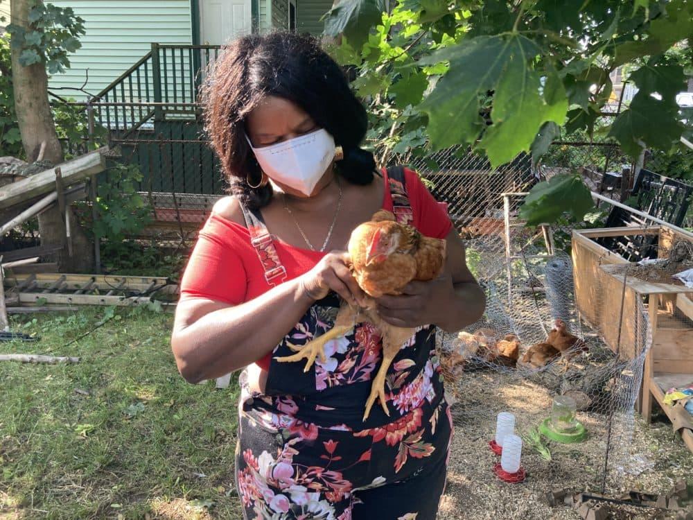 Kafi Dixon on her Boston farm. (Courtesy Lost Nation Pictures)