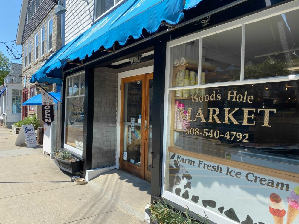 Woods Hole Market and Provisions in Falmouth is seeking seasonal workers in anticipation of a busy summer season. (Cristela Guerra/WBUR)