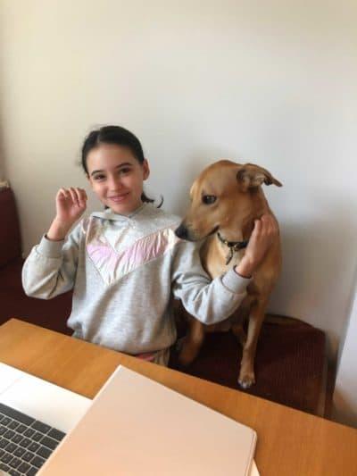 Ana Maravic and her dog Satchi. (Courtesy photo)