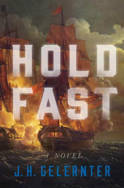 "The cover of author J. H. Gelernter's novel ""Hold Fast."" (Courtesy W.W. Norton & Company)"