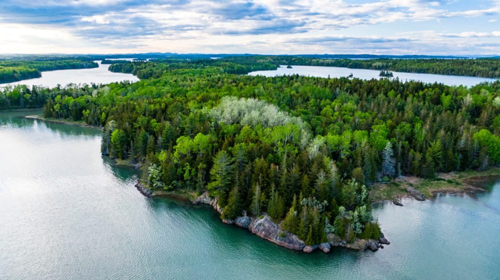 Cobscook Shores in Maine. The parklands are free to use and include 14 miles of scenic shorefront, 8 miles of biking and walking trails, several hand-carry boat launches, camping areas, vault toilets, screened pavilions and picnic spots. (Courtesy Chris Shane/Cobscook Shores)