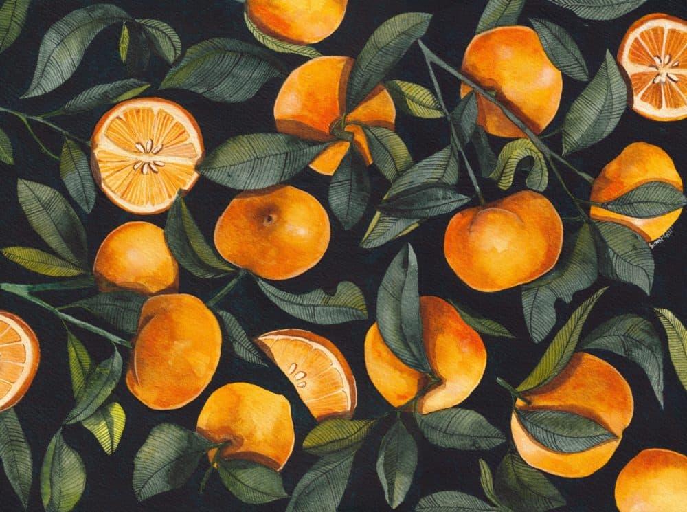 "(""Oranges"" by Sumit Gill)"