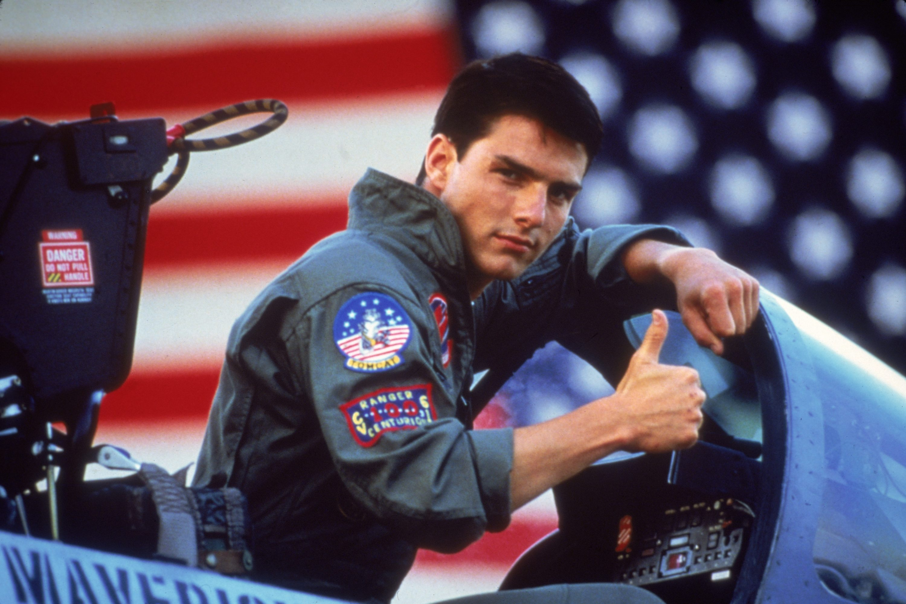 """Tom Cruise in """"Top Gun."""" (Courtesy Paramount Pictures)"""