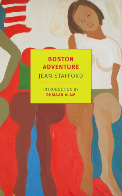 """The cover of author Jean Stafford's """"Boston Adventure."""" (Courtesy New York Review Books)"""