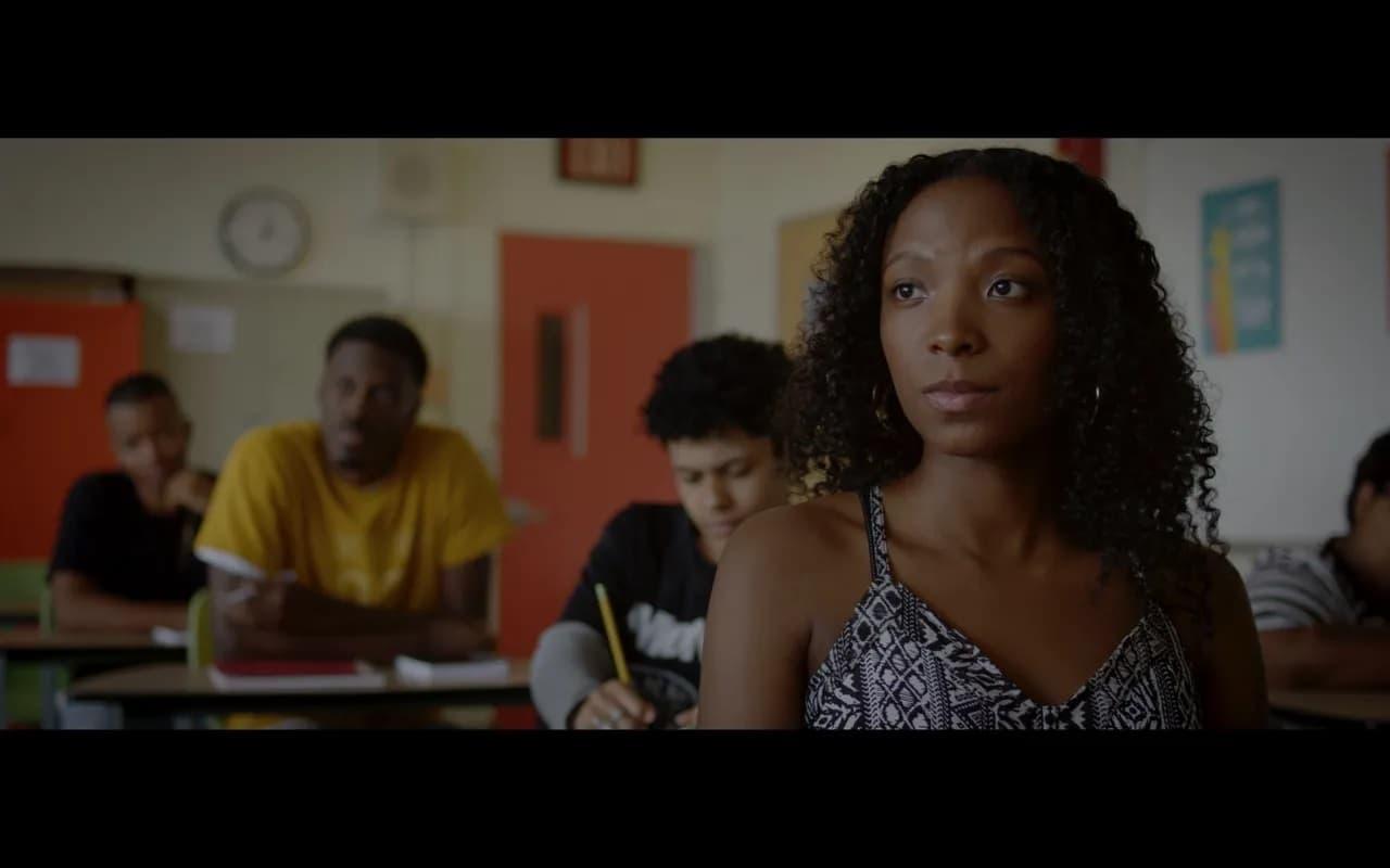 "Khai Tyler in Thato Rantao Mwosa's film ""Memoirs of a Black Girl."" (Courtesy)"