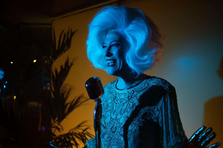"""Justin Vivian Bond as the Lounge Singer in the Boston Lyric Opera's new miniseries """"desert in."""" (Courtesy Michael Elias Thomas/Boston Lyric Opera)"""