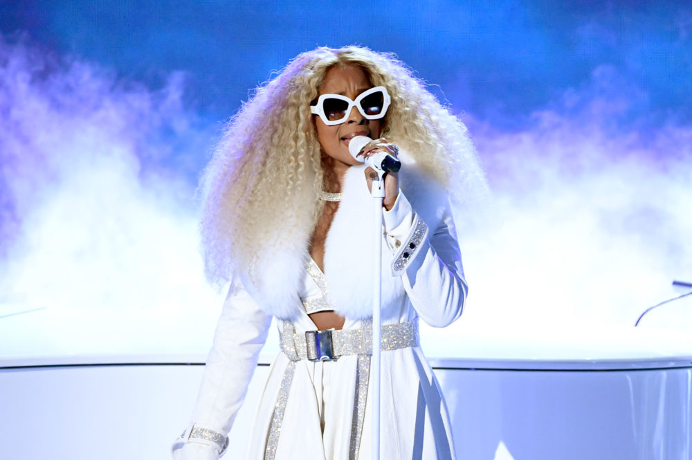 Mary J. Blige performs onstage at the 2019 BET Awards on June 23, 2019 in Los Angeles, California. (Kevin Winter/Getty Images)