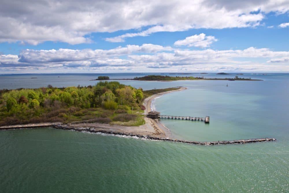 Gallops Island. (Courtesy Liz Cook/Boston Harbor Now)
