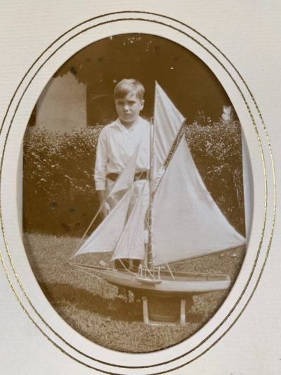 The author's father, Matthew Cochran, age 7, in 1926, Glasgow, Scotland (Courtesy)