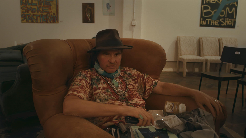 """Val Kilmer in the documentary """"Val."""" (Courtesy Amazon Studios)"""