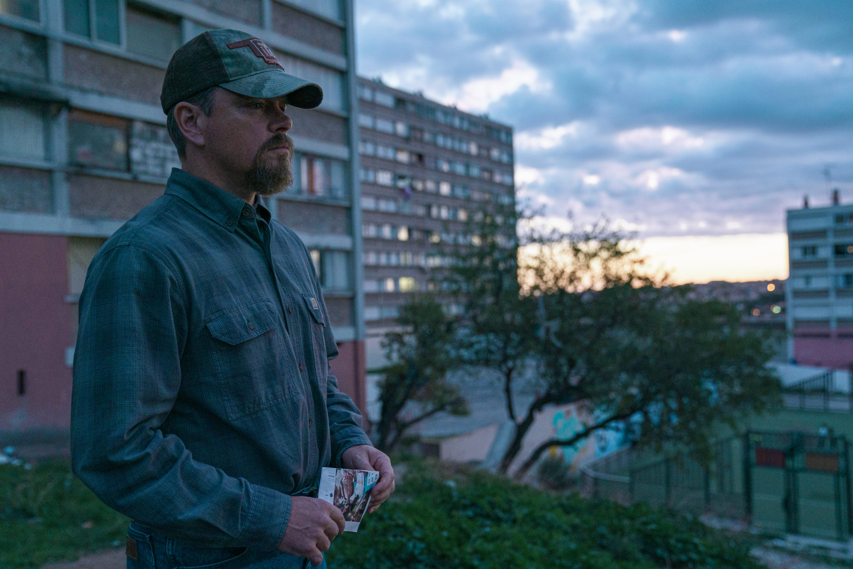 "Matt Damon in director Tom McCarthy's ""Stillwater."" (Courtesy Jessica Forde/Focus Features)"