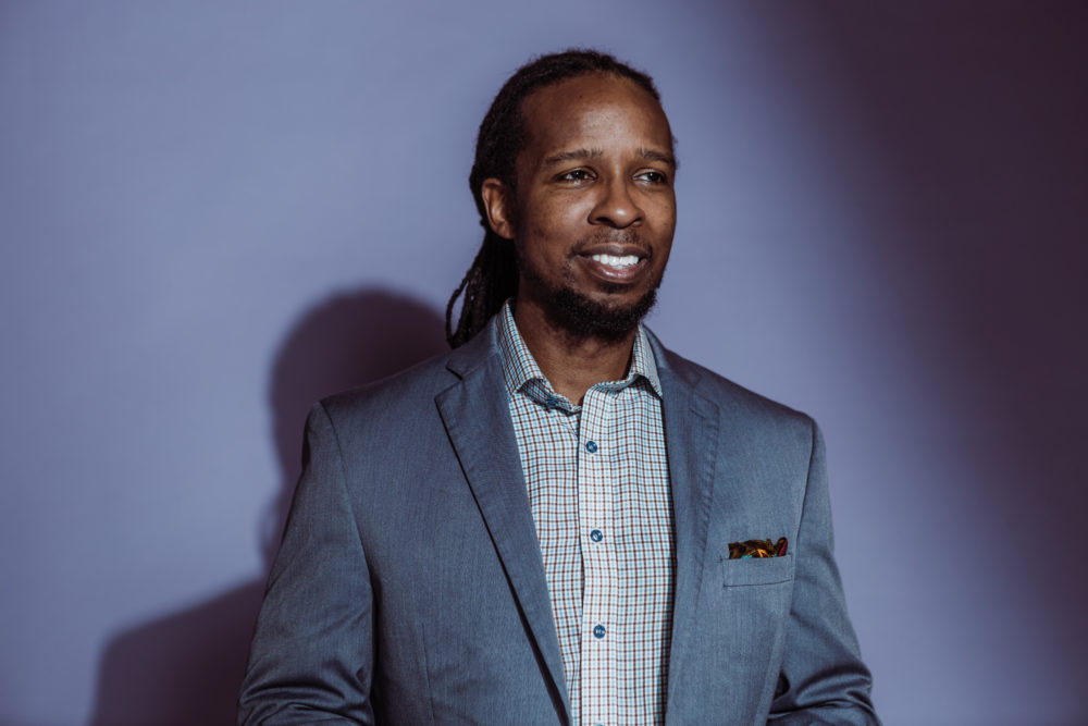 Ibram X. Kendi, professor in the Department of History in the College of Arts & Sciences and founder/director of Boston University's Center for Antiracist Research. (Janice Checchio for Boston University Photography)