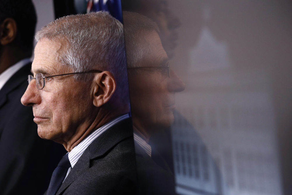 Dr. Anthony Fauci, Director of the National Institute of Allergy and Infectious Diseases. (Patrick Semansky/AP)
