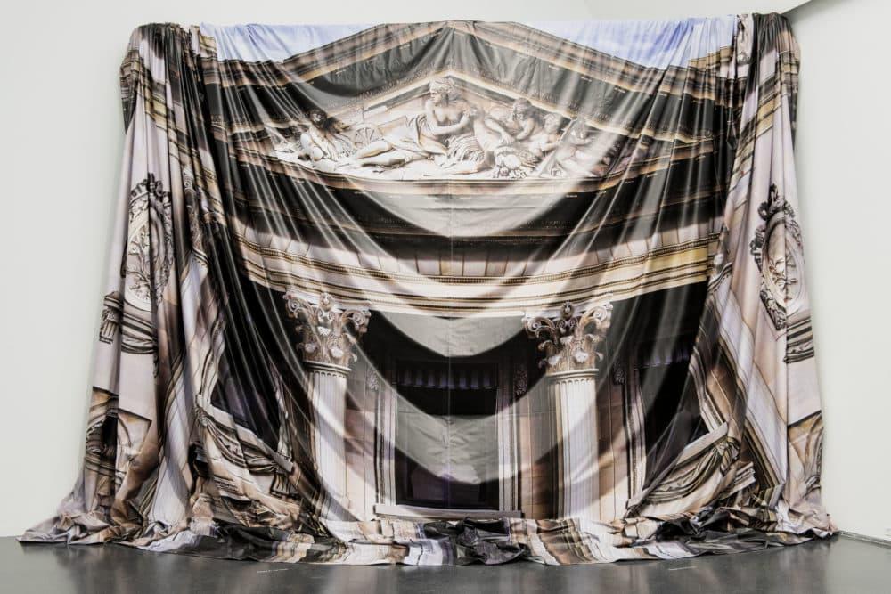 "Virgil Abloh, ""False Facade,"" 2016-2019.  (Courtesy of the Gymnastics Art Institute"