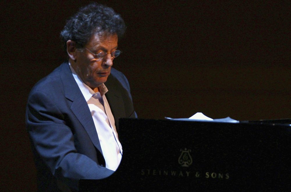 Composer Philip Glass performs (Scott Wintrow/Getty Images)