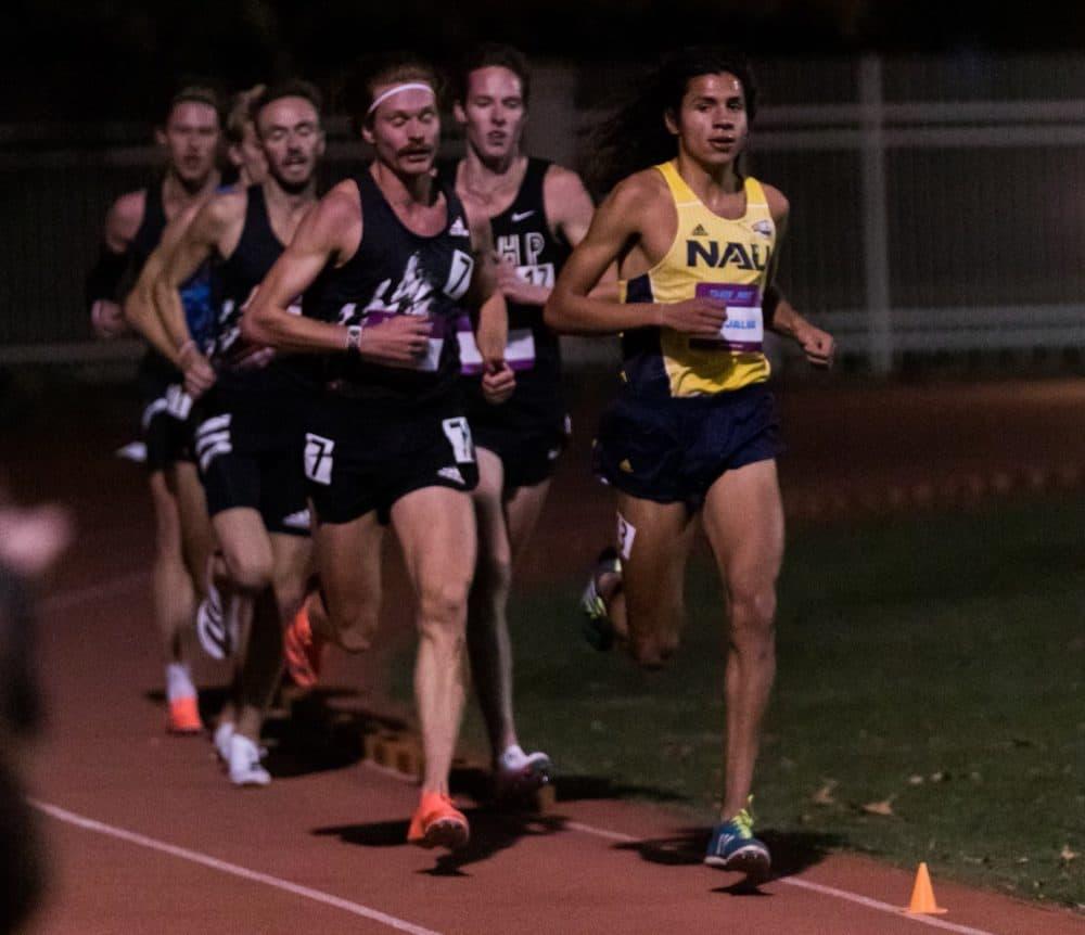 Luis Grijalva running (Courtesy)