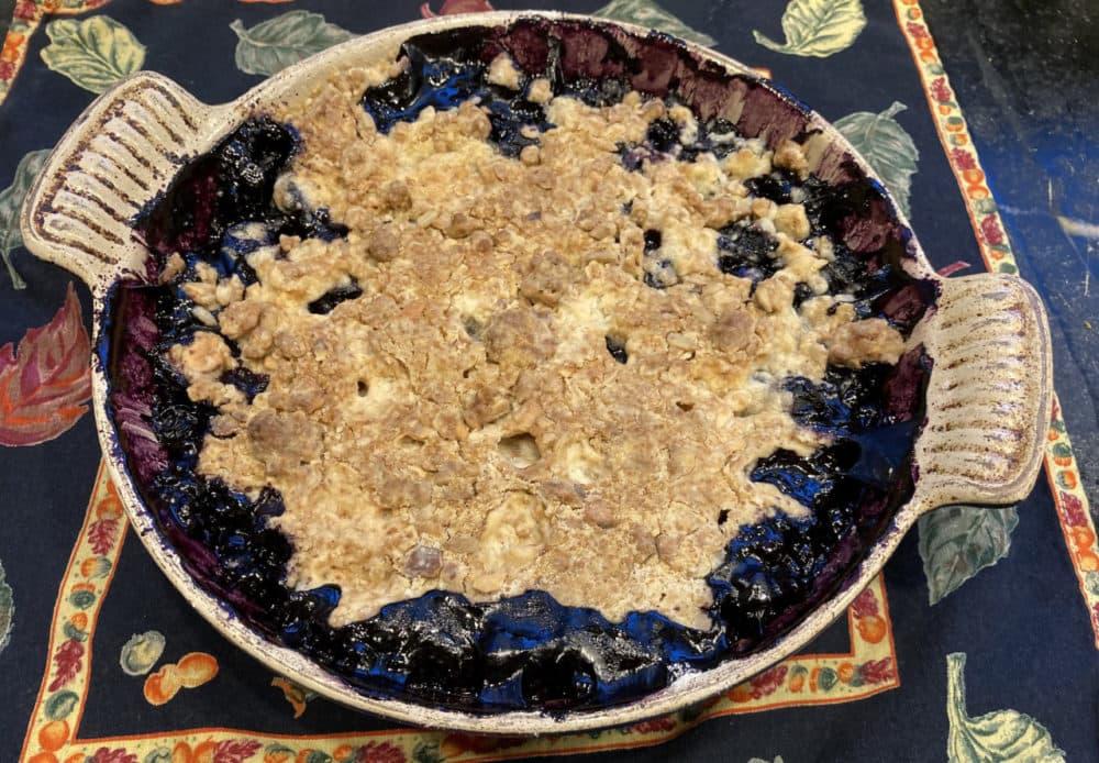 Blueberry Crisp (Kathy Gunst)