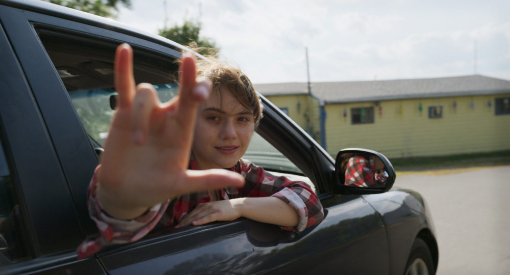 "Emilia Jones in ""CODA."" (Apple TV+)"