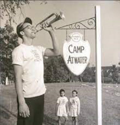 Camp Atwater was founded in 1921. Scholars believe it might be the oldest summer camp created to serve Black children. (Courtesy of Camp Atwater)