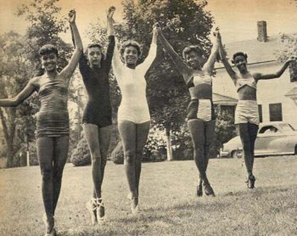 In days of yore, Camp Atwater offered ballet and fencing. The camp attracted kids from affluent Black families across the country. (Courtesy of Camp Atwater)
