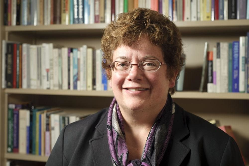 """Carolyn """"Biddy"""" Martin will step down from her role as Amherst College's president at the end of the next academic year. (Courtesy Bryce Richter/UW-Madison)"""