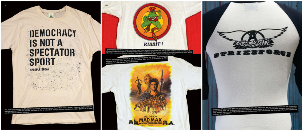 """A selection of shirts from """"Off Our Backs."""" (Courtesy)"""