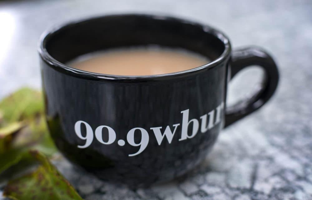Autumn WBUR mug. (Robin Lubbock/WBUR)