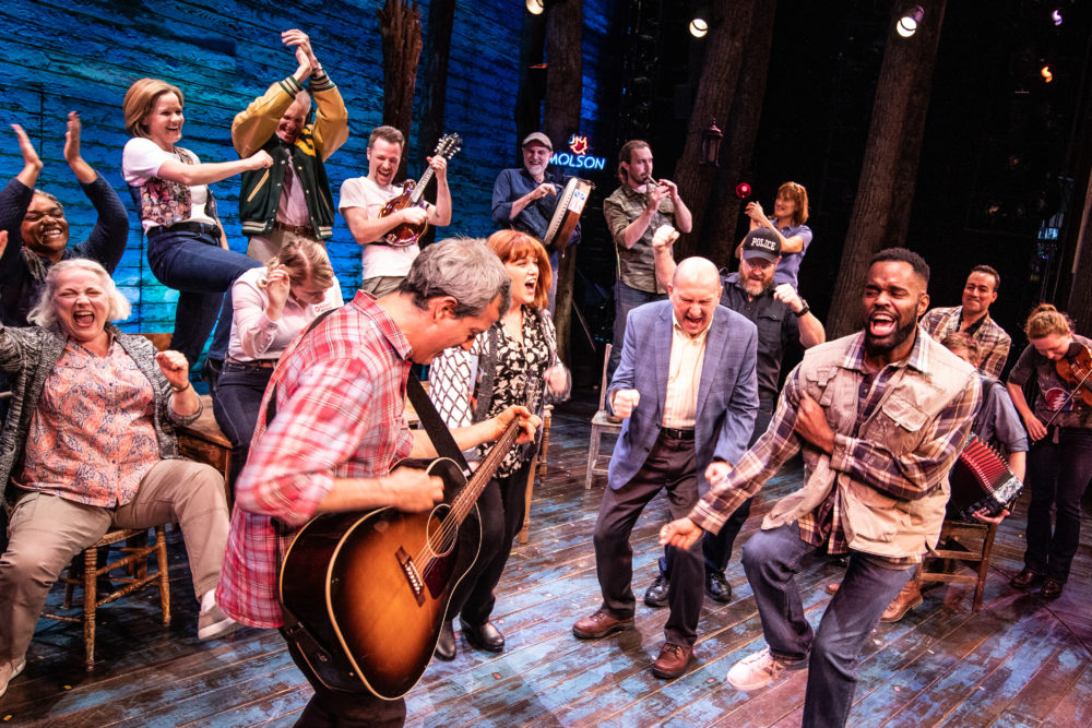 """Broadway cast of """"Come From Away."""" (Courtesy)"""