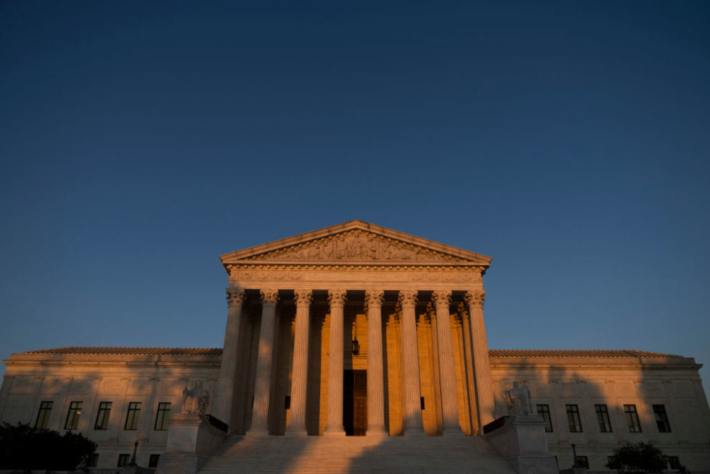 A view of the Supreme Court on Sept. 2, 2021 in Washington, DC. (Drew Angerer/Getty Images)