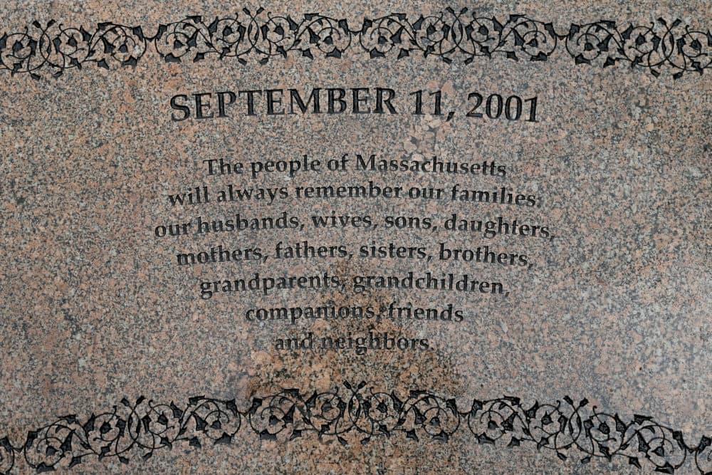 The 9/11 Memorial at the Public Garden on Sept. 10, 2020 in Boston. (Matt Stone/ MediaNews Group/Boston Herald via Getty Images)