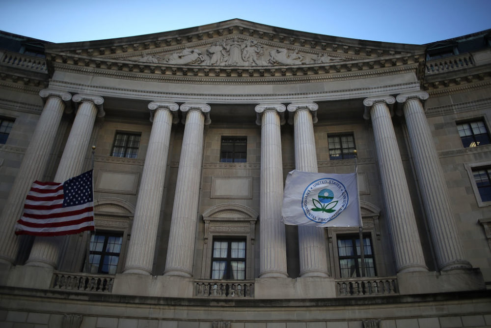 A view of the U.S. Environmental Protection Agency (EPA) headquarters  (Justin Sullivan/Getty Images)