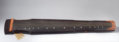 The guqin dates back more than 5,000 years. (courtesy: Eric Shimelonis)