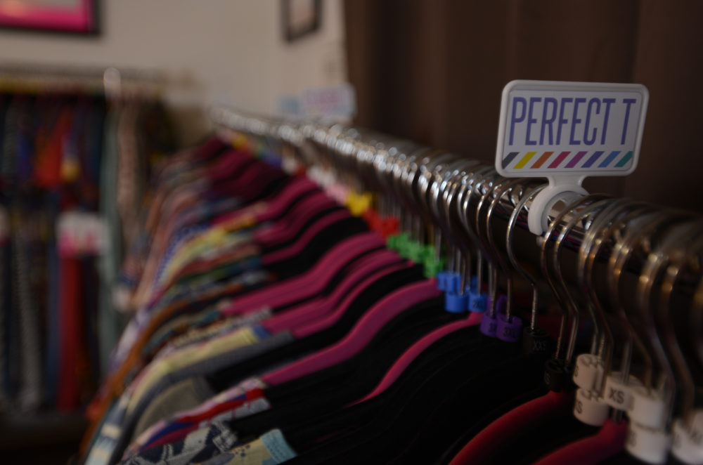 A LulaRoe clothing sales business inside an apartment. (Jeremy Drey/MediaNews Group/Reading Eagle via Getty Images)