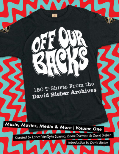 """The cover of """"Off Our Backs,"""" curated by Lance VanDyke Salemo, Brian Coleman and David Bieber. (Courtesy)"""