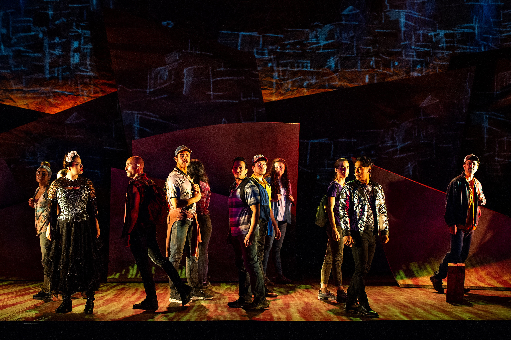 """The cast of Barrington Stage Company's """"A Crossing: A Dance Musical."""" (Courtesy Daniel Rader)"""