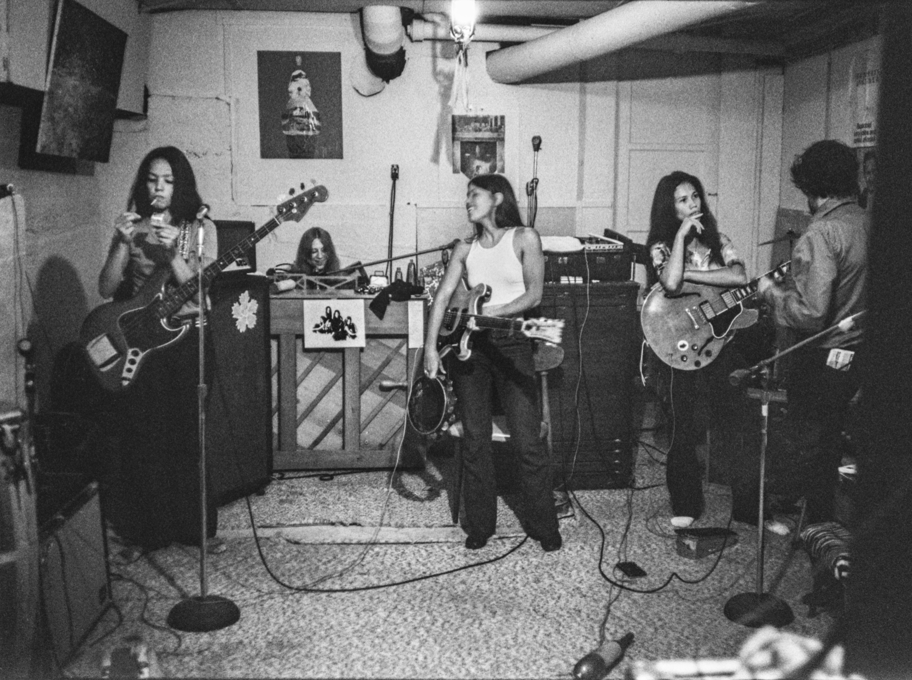 The all-female rock band Fanny made five albums between 1970 and 1975. A new documentary about the band opens at the Boston Women's Film Festival. (Courtesy Linda Wolf)