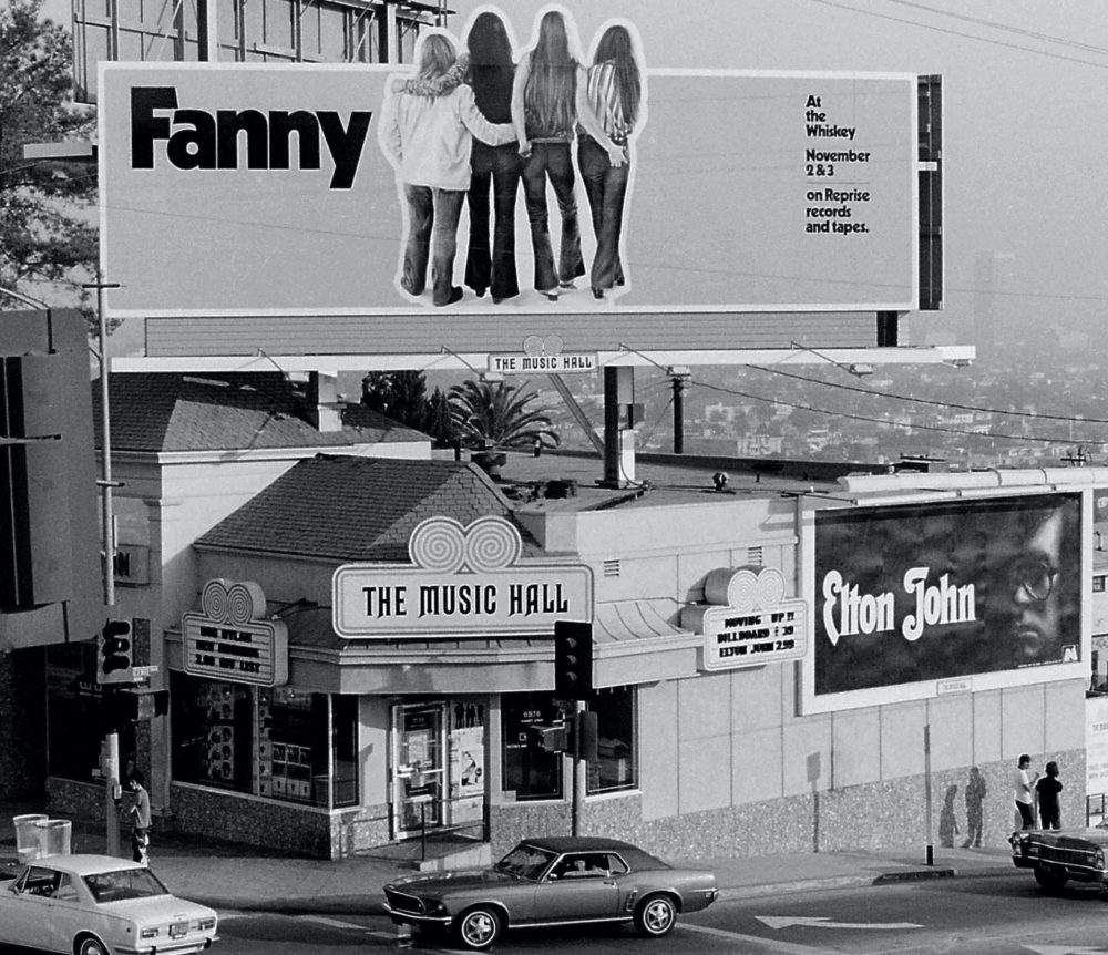 Fanny was the first female group to release an LP with a major label.  (Courtesy of Linda Wolf)
