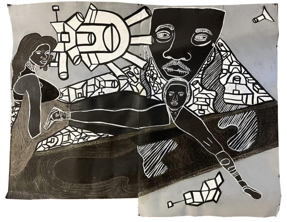 "Marlon Forrester's ""BlackMoon23"" (Courtesy Marlon Forrester)"