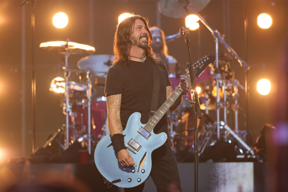 Dave Grohl of Foo Fighters performs onstage during the 2021 MTV Video Music Awards at Barclays Center on Sept. 12, 2021, in the Brooklyn. (Theo Wargo/Getty Images for MTV/ViacomCBS)